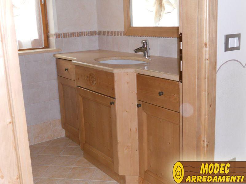 Mobili Rustici Bagno : Arredi personalizzati rustici e per la montagna modec arredamenti