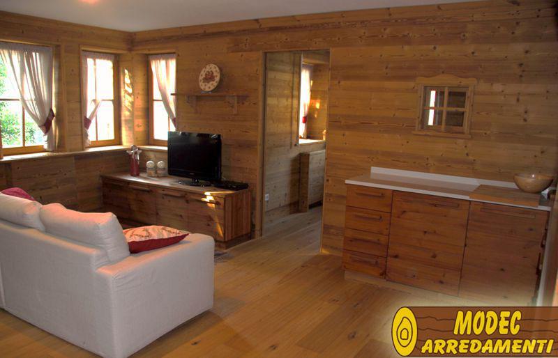 Controsoffitti e boiserie in legno modec arredamenti - Arredamento case moderne foto ...