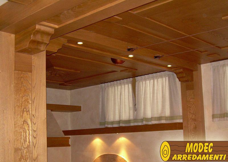 Arredi personalizzati rustici e per la montagna modec for Arredamento rustico casa