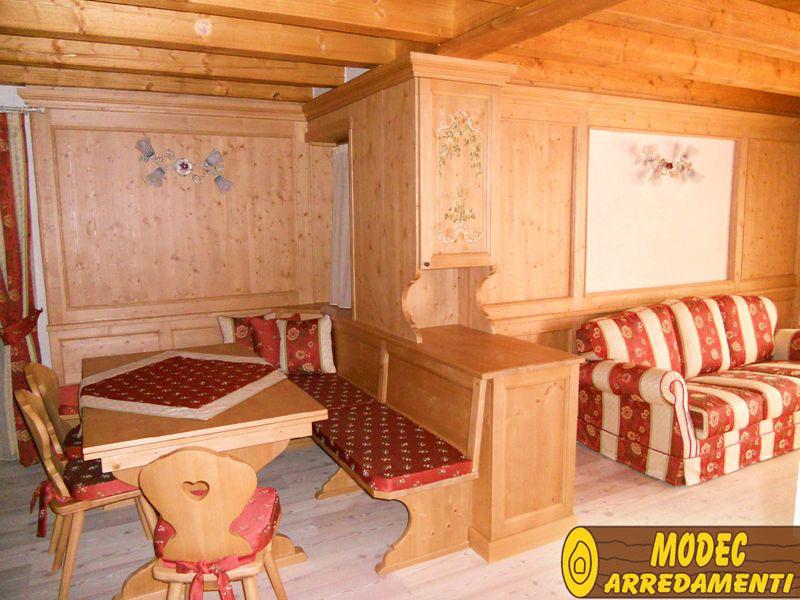 Arredi personalizzati rustici e per la montagna modec arredamenti - Arredamento casa in montagna ...