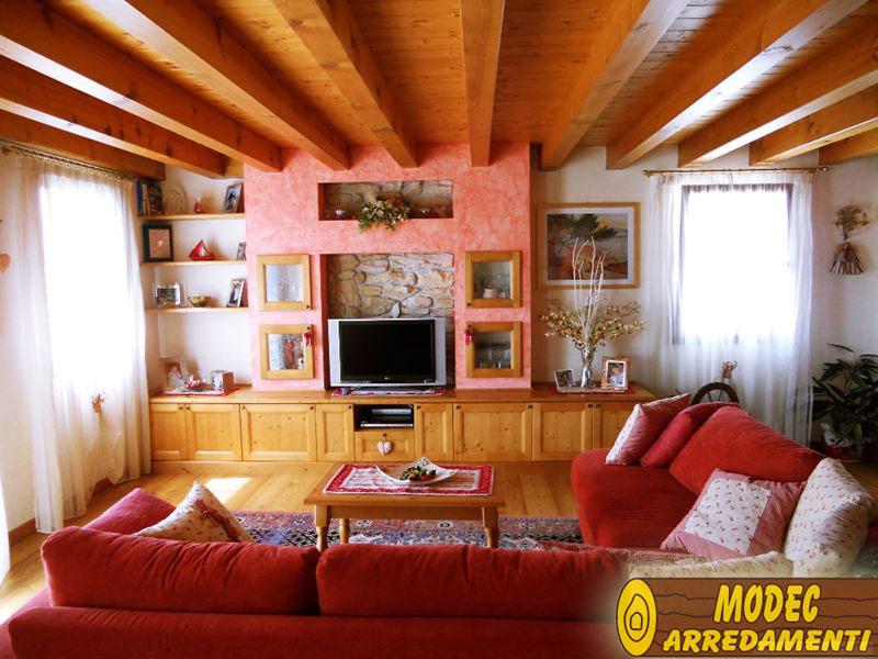 Arredi personalizzati rustici e per la montagna modec - Arredamento case moderne foto ...